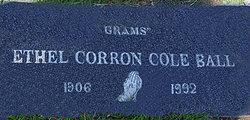 Ethel <i>Corron</i> Ball