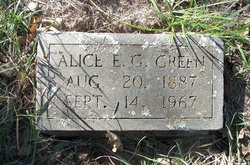 Alice Evans <i>Gordon</i> Green