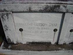 Pauline <i>Letson</i> Dyar
