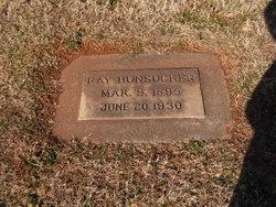 Ray Miller Hunsucker, Sr