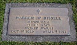 Warren Wilson Bissell