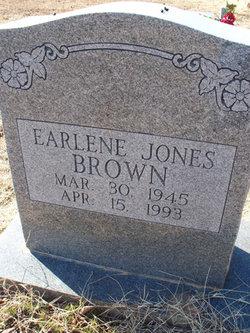 Earlene <i>Jones</i> Brown
