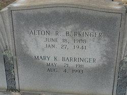 Mary Katherine <i>Morgan</i> Barringer