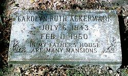 Carolyn Ruth Ackermann