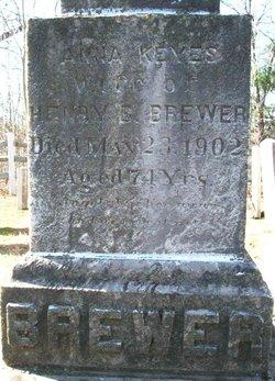 Anna <i>Keyes</i> Brewer
