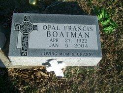Opal Francis Boatman