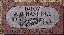 W. D. Wid Hastings