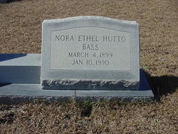 Nora Ethel <i>Hutto</i> Bass