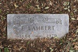 E. Lambert