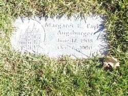 Margaret E. <i>Taylor</i> Augsburger