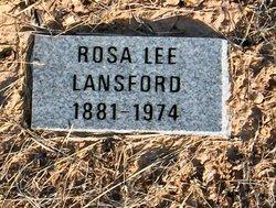 Rosa Lee <i>Jordan</i> Lansford