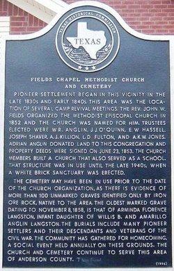Fields Chapel Cemetery