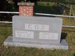 Fonnie Blanche <i>Gilliland</i> Cox