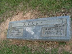 Sarah Francis <i>Daniel</i> Avery