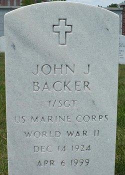 John J Backer