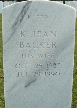Katherine J Backer