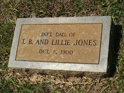 Infant Daughter Jones