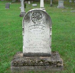 Julia E. <i>Westcott</i> Swick