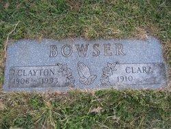 Clara Elizabeth <i>Franklin</i> Bowser