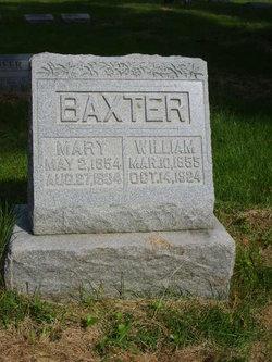 America Caroline Mary <i>Bradford</i> Baxter
