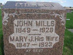 Mrs Mary J. <i>Pruitt</i> Mills