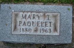 Mary Theresa <i>Joliat</i> Paquelet