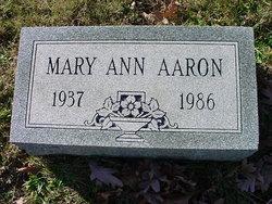 Mary Ann Aaron