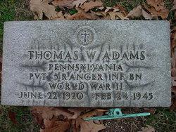 Thomas Wilber Adams