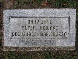 Mary Jane <i>Auten</i> Howard