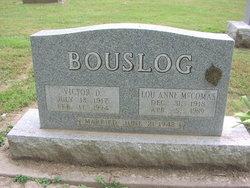 Lou Anne <i>McComas</i> Bouslog