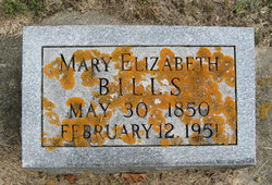 Mary Elizabeth Lib <i>DeBow</i> Bills