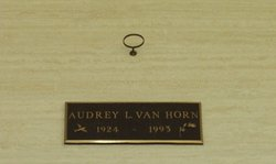 Audrey Lavonne <i>Pickerill</i> Van Horn