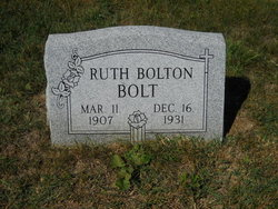 Ruth Newton <i>Bolton</i> Bolt