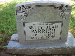 Betty Jean Parrish