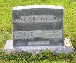 Rosa Louise <i>Guhn</i> Gerloff