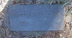 Hattie E <i>Jewell</i> Borovan