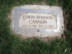 Edwin Bennion Cannon