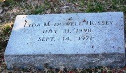 Lydia <i>McDowell</i> Hussey