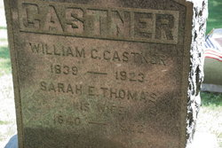 Sarah E <i>Thomas</i> Castner