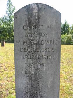 Carrie M. <i>Walden</i> Caldwell