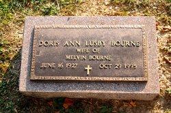 Doris Ann <i>Lusby</i> Bourne