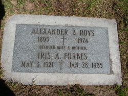 Iris Alexandria <i>Roys</i> Forbes
