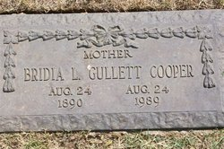 Bridia Lucille <i>Gullett</i> Cooper
