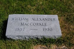 William Alexander MacCorkle