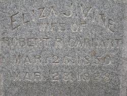 Eliza J. <i>Vine</i> Carhart