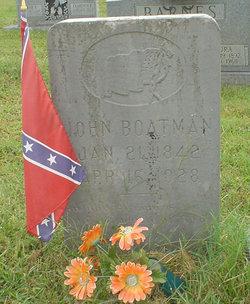 Pvt John William Boatman