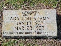 Ada Lou Adams