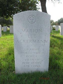 Marion Lee Ackermann
