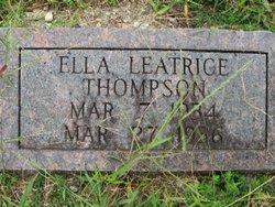 Ella Leatrice Thompson