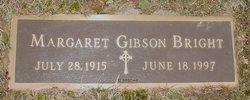 Margaret <i>Gibson</i> Bright